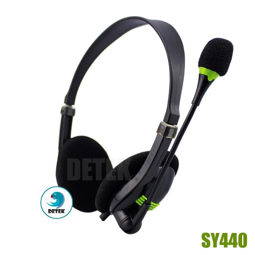 Tai nghe game thủ kèm Microphone Soyto SY440