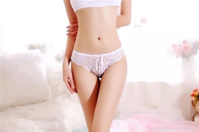 Bộ 5 Quần lót nữ ren yên thấu - Đồ lót gợi cảm sexy quyến rũ Nhật Bản