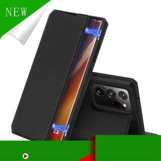 [Hàng Hot ] Bao da điện thoại PU dạng lưới tản nhiệt cho Samsung Galaxy Note 20 / Note 20 Ultra