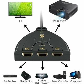 Bộ Chia 3 Cổng Hdmi Cho Hdtv Ps4 Hd 4k 1080p T0M0 thumbnail