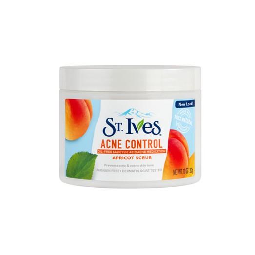 Hình ảnh Sữa rửa mặt tẩy tế bào chết ngăn ngừa mụn St.Ives trái mơ 283gr (dùng được cho body)-1