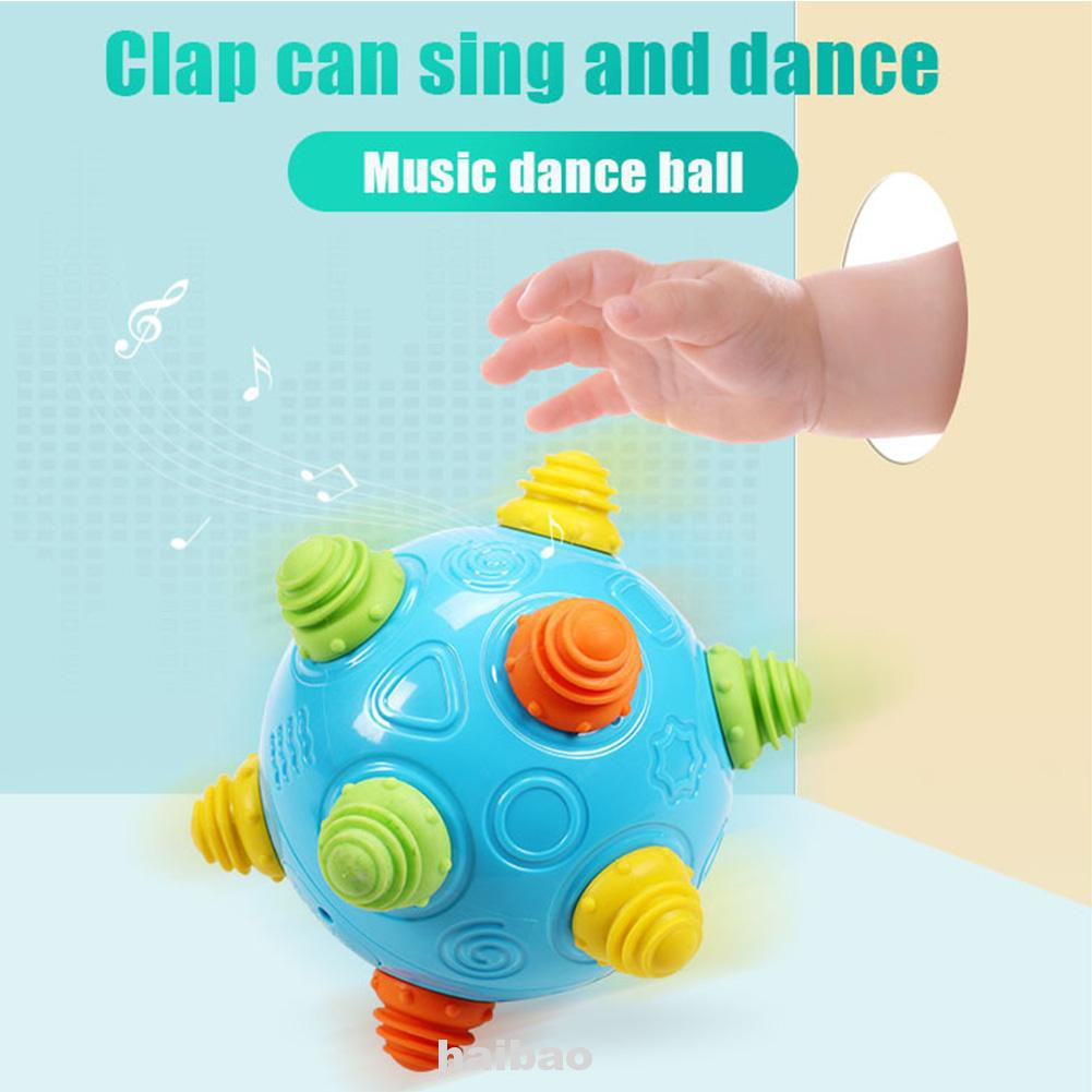 Baby Interactive Early Learning Toddlers Developmental Jumping Move Crawl Bouncing Sensory Dancing Ball Toy