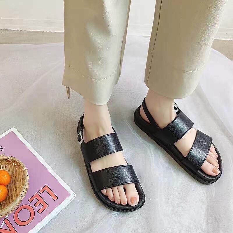 Dép sandal nữ 2 quai dẻo