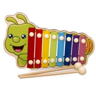 Đồ chơi Đàn gỗ và kim loại phát nhạc cho bé