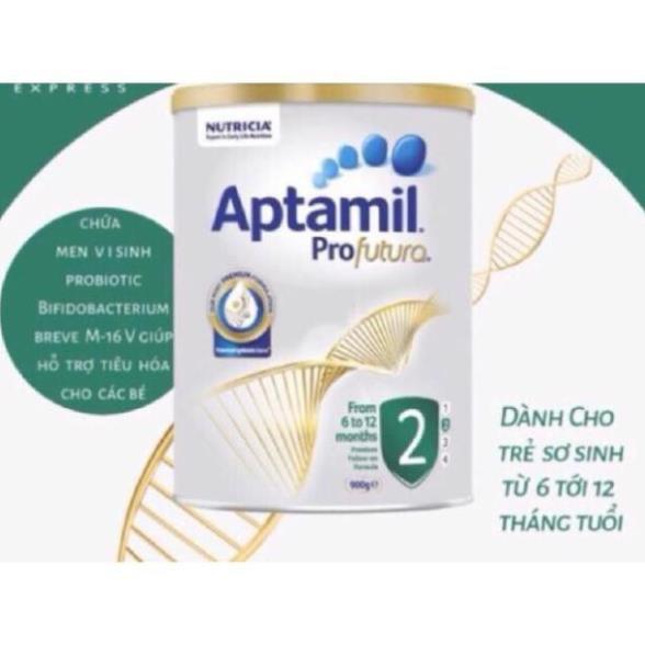 [Date 2022] Sữa Aptamil Profutura úc số 1-2-3-4 900g (mẫu mới)