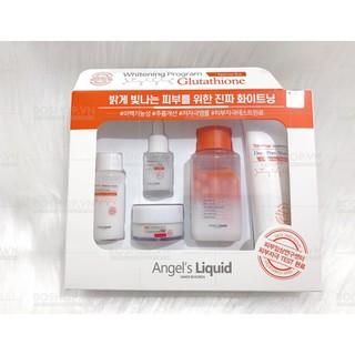 Bộ dưỡng da Angel s Liquid Whitening Program Glutathione Special Kit thumbnail