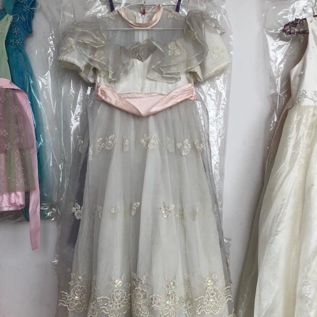 Váy đầm quần áo hoa hông sa mạc 350