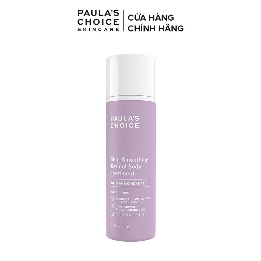Kem dưỡng thể chống lão hóa làm săn chắc da Paula's Choice Skin - Smoothing Retinol Body Treatment 118ml- 5800