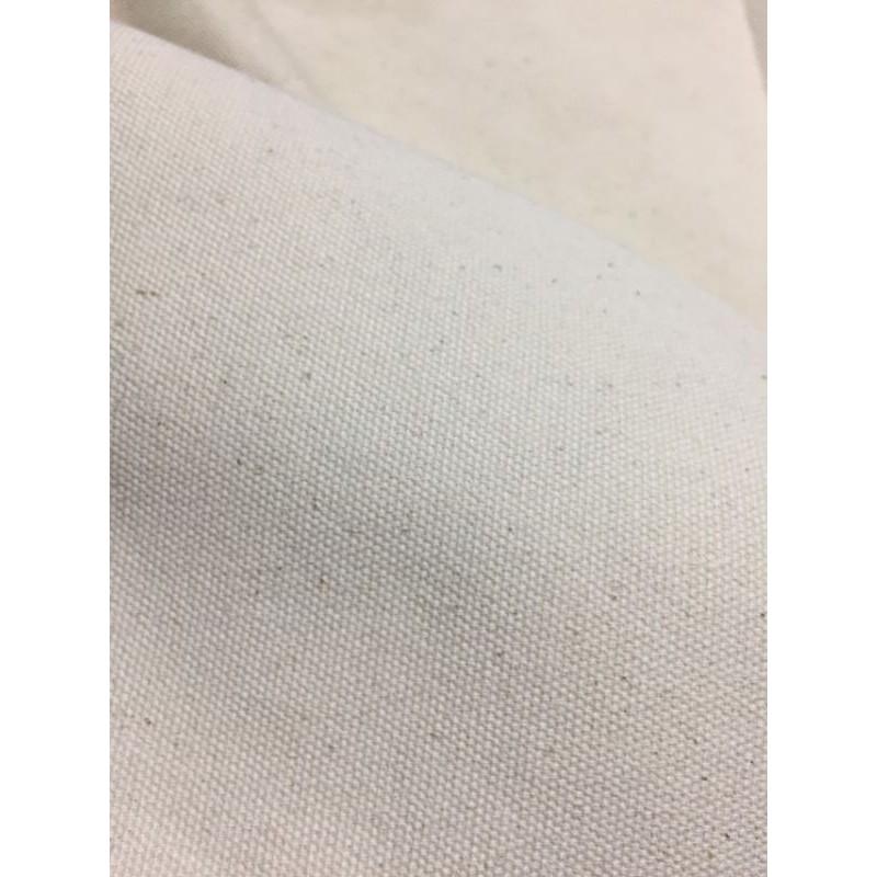 1m x 1m7 Vải bố canvas mộc dày nguyên bản may túi, may rèm