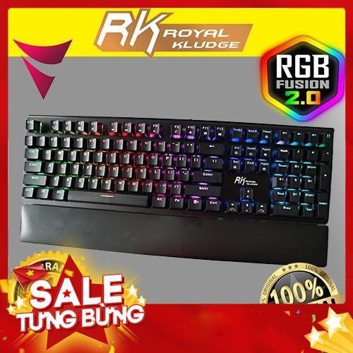 [Nhập ELCL30K giảm 30K đơn từ 200K]Bàn Phím Cơ RK-s108 phiên bản RGB Giá chỉ 850.000₫