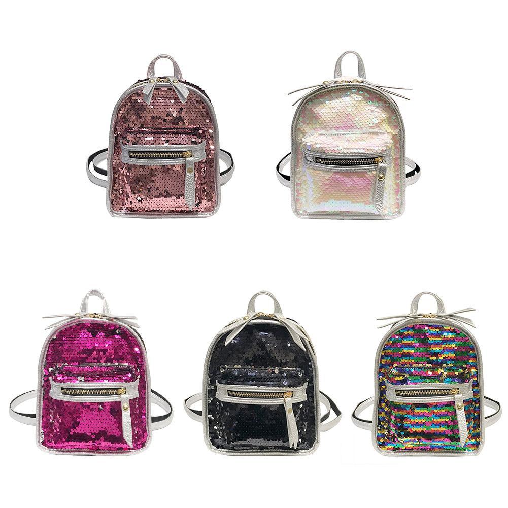 💕Bag💕Sequins Backpack Travel Casual School Shoulder Bag for Teenager Girls
