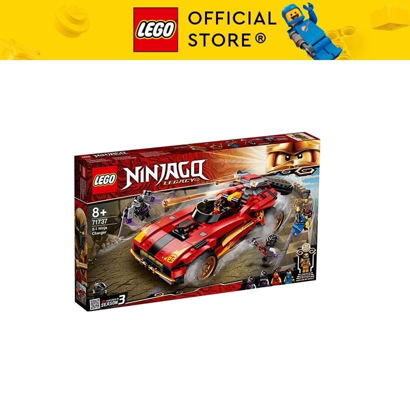 LEGO NINJAGO 71737 Siêu Xe Chiến Đấu Của Kai ( 599 Chi tiết)