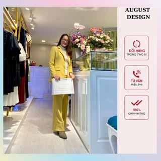 Set Vest Dáng Xuông ( 1 áo vest - 1 quần ) BY AUGUST DESIGN thumbnail