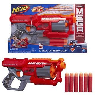 Đồ Chơi Nerf N-Strike Elite Mega CycloneShock cò màu cam nhập từ Mỹ