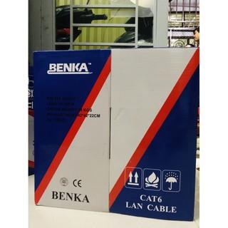 Cáp Benka Cat 6 cuộn 305m. Hàng độc quyền Cty