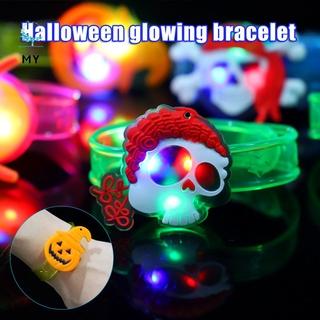 Vòng Tay Đèn Led Phong Cách Halloween Cho Bé