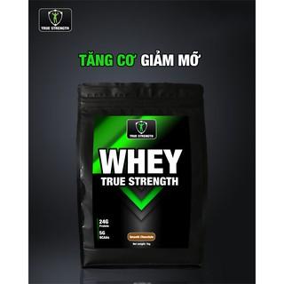 Whey True Strength – Tăng Cơ Giảm Mỡ – Loại 1kg