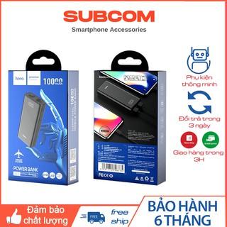 Pin Sạc Dự Phòng Mini Hoco J45 Elegant Shell 10000mAh 2 Cổng Sạc USB, Chống Nóng Máy, Chống Cháy Nổ