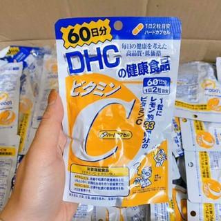 HOTViên Uống D.H.C Vitamin C Nhật Bản – DHC_Vitamin_C Nhật Bản 60 Ngày