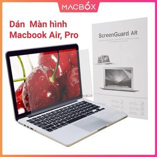 Dán Macbook Air, Pro, Retina - Miếng dán màn hình Macbook full kích cỡ 11.6 inch 13.3 inch 15.4 inch. 16 inch thumbnail