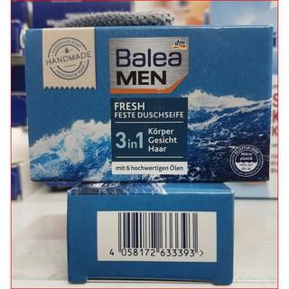 Bánh xà bông Balea men cho nam tích hợp dầu gội tắm và sữa rửa mặt.