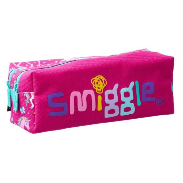 [พร้อมส่ง] กระเป๋าดินสอ 2 ซิป smiggle ของแท้จากออสเตรเลีย