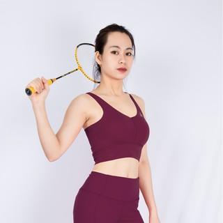 [Mã SKAMCLU7 giảm 10% tối đa 50K đơn 0Đ] Áo Bra croptop Cổ tim Gladimax phù hợp vói nhiều bộ môn yoga, gym, aerobic thumbnail
