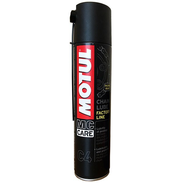 Chai xịt sên Motul MC Care C4 Chain Lube Factory Line 400ml
