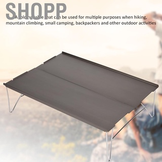 SHOPP Non‑Rusting Hiking Desk Portable Table Lightweight Sturdy for Outdoor Camping Field