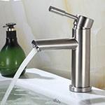 Vòi chậu rửa nóng lạnh inox 304 SUS3305