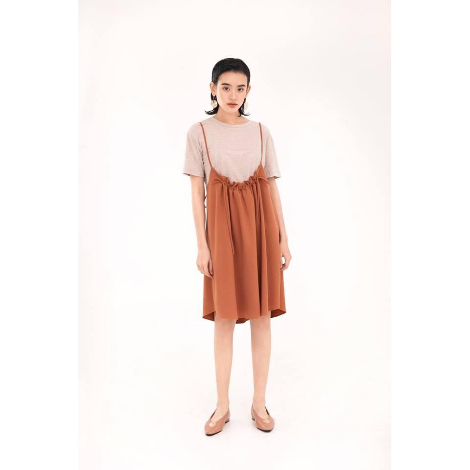 MOMOCO Váy yếm dây cổ (3637)