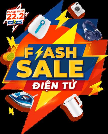 Flash Sale hàng điện tử 22-2-2020 tại Shopee