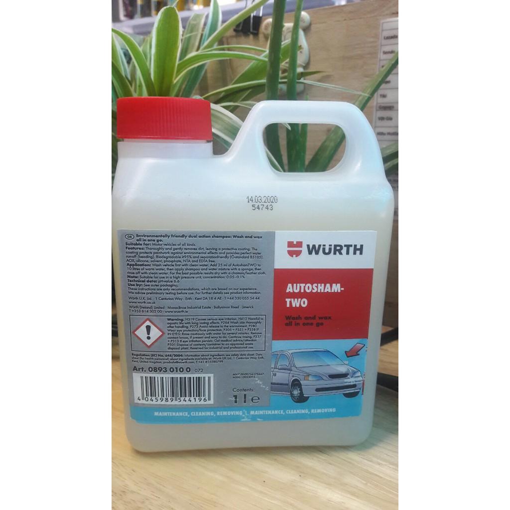Dung dịch Nước rửa xe máy Wurth 1 lít (08930100)