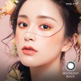 KÍnh áp tròng Angel Eyes - Moonlight Black - Dia 14.5mm - Power 0 - 6 thumbnail