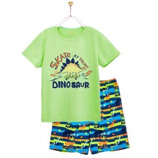 Bộ Mặc Nhà Ngắn Tay Bé Trai M.D.K Dino Saur M.D.K
