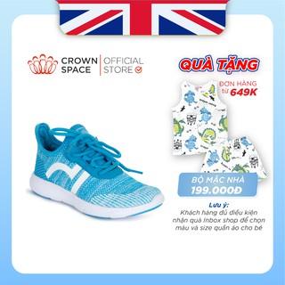 Giày Thể Thao Bé Trai Bé Gái Đi Học Nhẹ Êm Crown Space Sport Shoes UniSex CRUK8022 Trẻ em Cao Cấp Size 28-35/2-14 tuổi