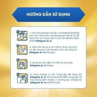 Hình ảnh [Mua 2 tặng 1] Combo 2 lon Sữa bột Enfa A+ 4 1750g/lon tặng 1 lon Enfa A+ 4 870g-4