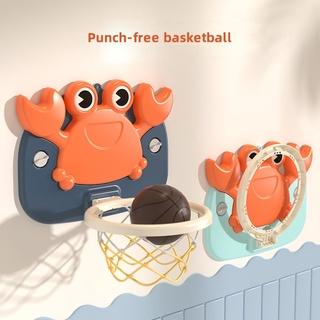 Bộ đồ chơi bóng rổ đứng trên và dưới không cần khoan cho bé chơi trong nhà