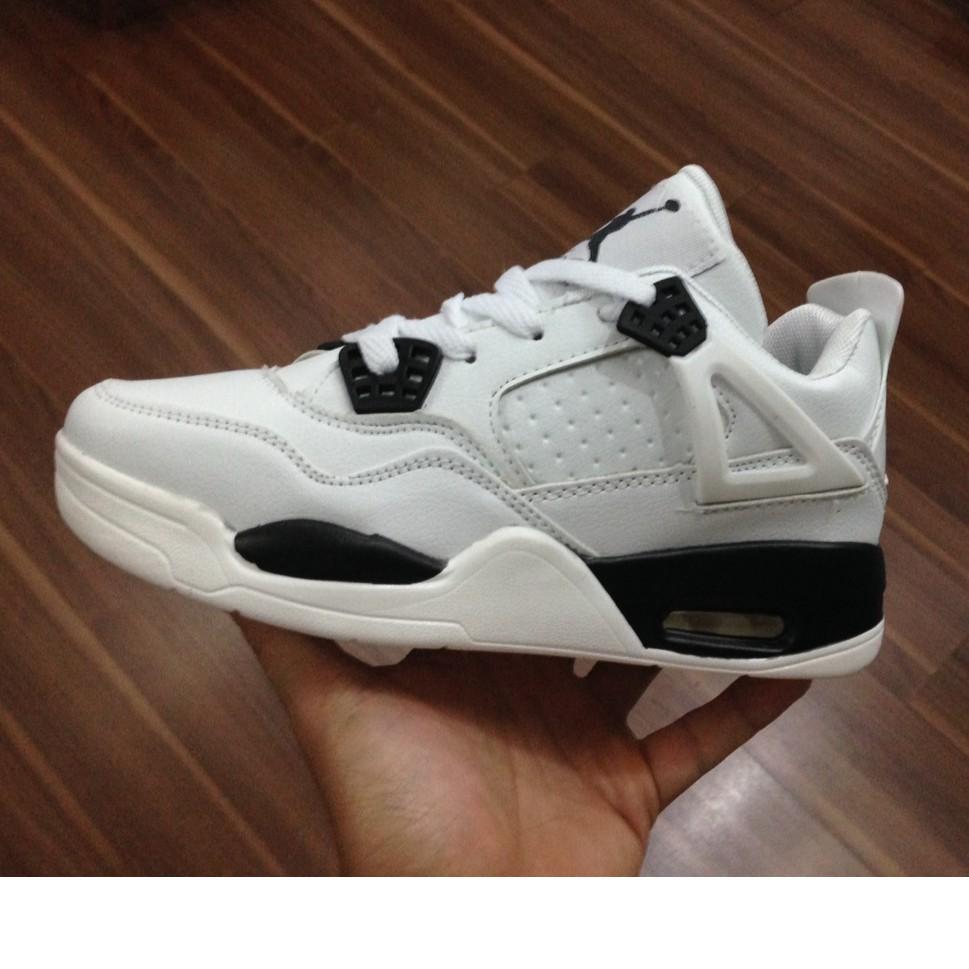 [FREE SHIP] Giày Nike Air Jordan 4 màu trắng
