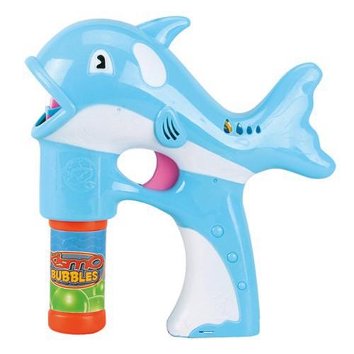 [RẺ NHẤT] Súng bắn bong bóng hình cá heo vui nhộn