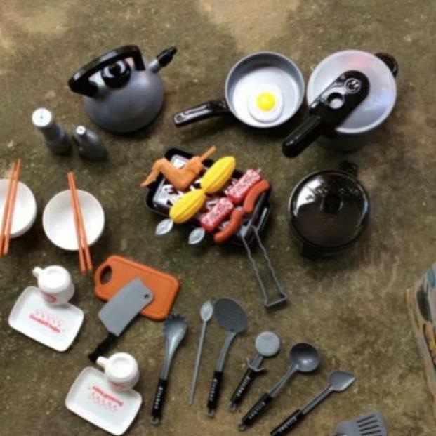 Bộ đồ chơi nấu ăn 35 chi tiết