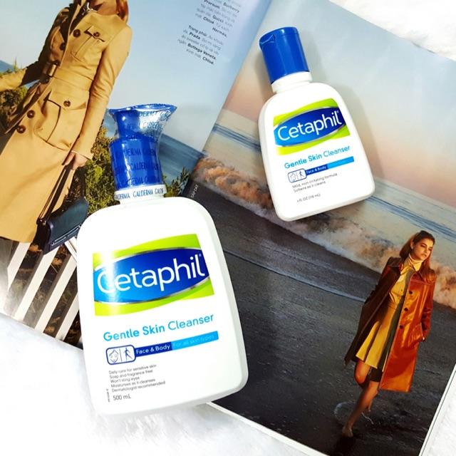 👍Sữa rửa mặt trị mụn cho da nhạy cảm CETAPHIL Gentle Cleanser - Mỹ👍