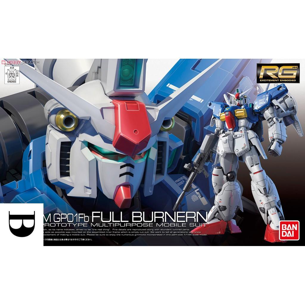 Mô hình Gundam RG13 GP01Fb FULL BURNERN