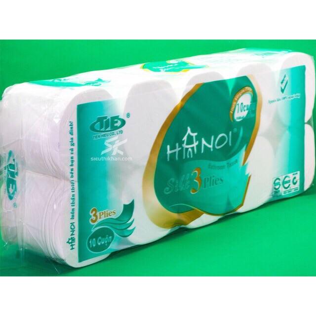 Giấy vệ sinh 3 lớp Hà Nội (Loại 1)