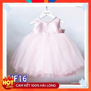 Váy đầm cho bé gái 👗 FreeShip + Tặng kèm nơ 🌺 Đầm công chúa Evelyn cho bé siêu xinh VF16 E001 E003
