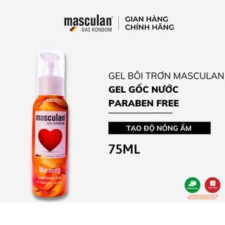 Gel bôi trơn cao cấp Masculan Warming - Nồng ấm - Gốc nước - Không chất bảo quản - 75ml thumbnail