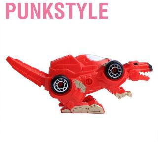 Punkstyle Manual Dinosaur Deformation Car Toy Children Educational Toys Funny WJC73