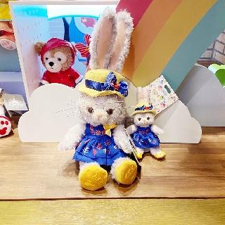 Shanghai Disney Summer Star Dailu Doll Plush Toy Star Dailu Schoolbag Pendant Keychain Key Ring Female