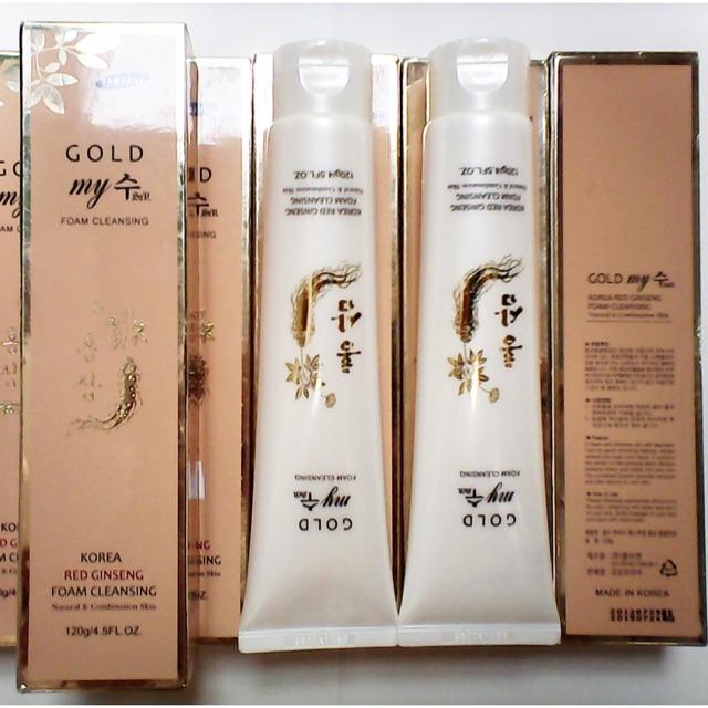 Sữa rửa mặt sâm vàng My Gold Korea Red Ginseng - 2817299 , 156182183 , 322_156182183 , 60000 , Sua-rua-mat-sam-vang-My-Gold-Korea-Red-Ginseng-322_156182183 , shopee.vn , Sữa rửa mặt sâm vàng My Gold Korea Red Ginseng