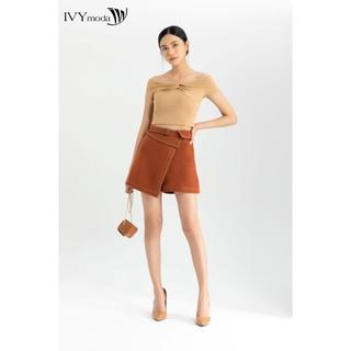 [Mã WABR1550 - 10% - ĐH từ 250K]Quần sooc nữ giả váy IVY moda MS 20B8547 thumbnail